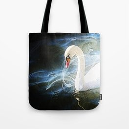 Swans by Lika Ramati Tote Bag