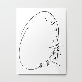 Hannibal Clock Metal Print