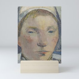The Beautiful Angèle Mini Art Print