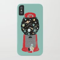 ilovedoodle iPhone & iPod Cases featuring My childhood universe by I Love Doodle