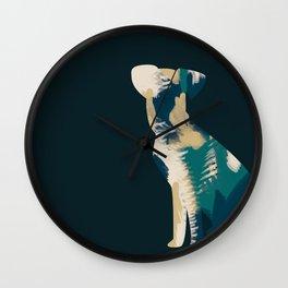 Arty loves art Wall Clock