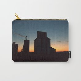 Silos at Sunrise Carry-All Pouch