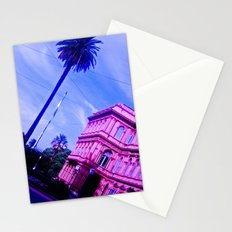 Blue-Pink. Stationery Cards