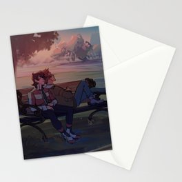 klance at dawn Stationery Cards