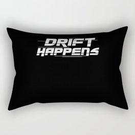 Drift Happens | Car Tuning Gift Idea Rectangular Pillow