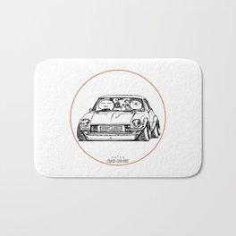 Crazy Car Art 0095 Bath Mat