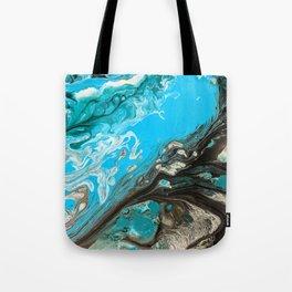 Ocean Granite Tote Bag