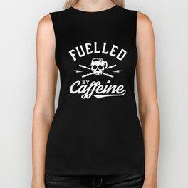 Fuelled By Caffeine Biker Tank