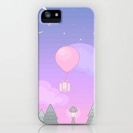 Animal Crossing Evening iPhone Case