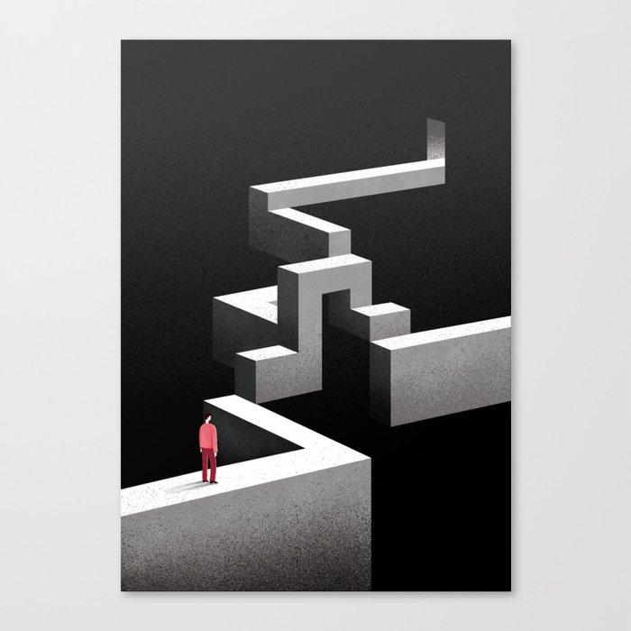 The Way I'm Walking Canvas Print