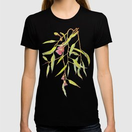 Flowering eucalyptus tree branch T-shirt