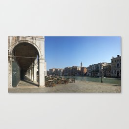 italy - venice - widescreen_647-649 Canvas Print
