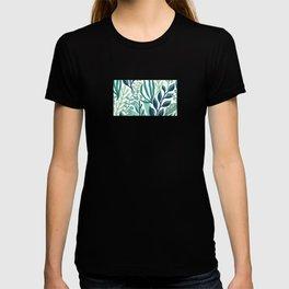 UniCorn Leaves Pattern T-shirt