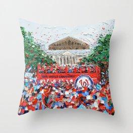 Party Bus Throw Pillow