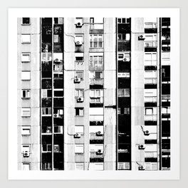 Belgrade | Takovska | black and white Art Print