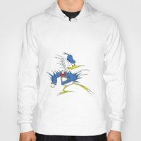donald duck Hoodies featuring Donald LASORBIRD by Futurlasornow