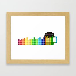 Feel The Beat Framed Art Print