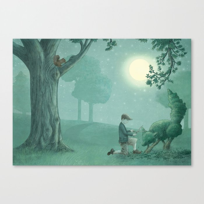 The Night Gardener - Last Page Canvas Print