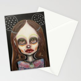 night mouse Stationery Cards