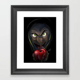 Deliciously Evil by Topher Adam 2017 Framed Art Print