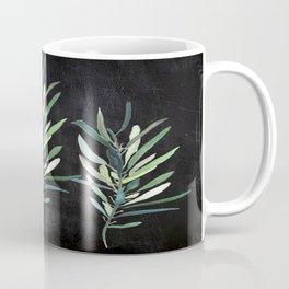 Eucalyptus Branches On Chalkboard Coffee Mug