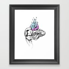 Gathering My Thoughts for the Night Framed Art Print