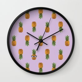 La Piña Wall Clock