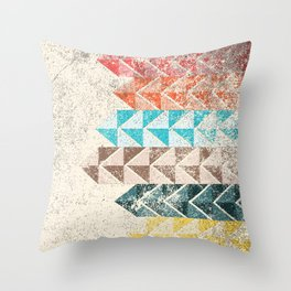 Dirty Lines Throw Pillow