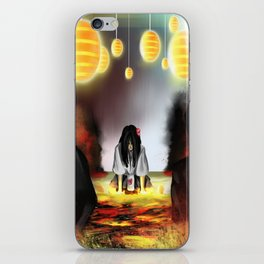 Surrounded by the Cult of the Desert Rose iPhone Skin