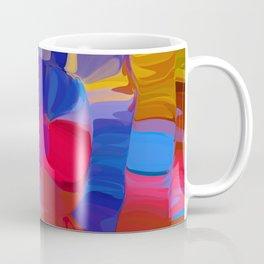 a spyral of happy colors Coffee Mug