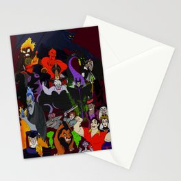 Villains Gallery Stationery Cards