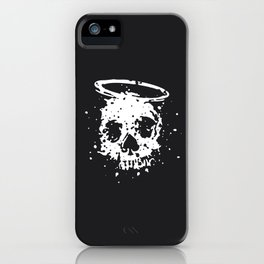 The Angel and The Gambler iPhone Case
