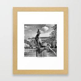 Sainte Catherine Framed Art Print