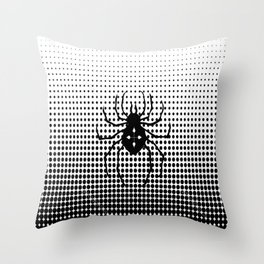 one of the spiders Throw Pillow