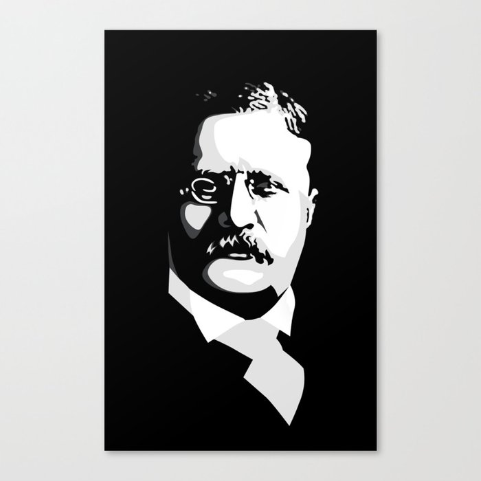 Teddy Roosevelt Canvas Print
