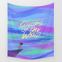 Colors of the Wind Wall Tapestry