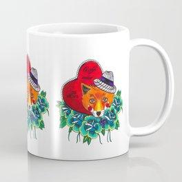 Fox and fruit Coffee Mug