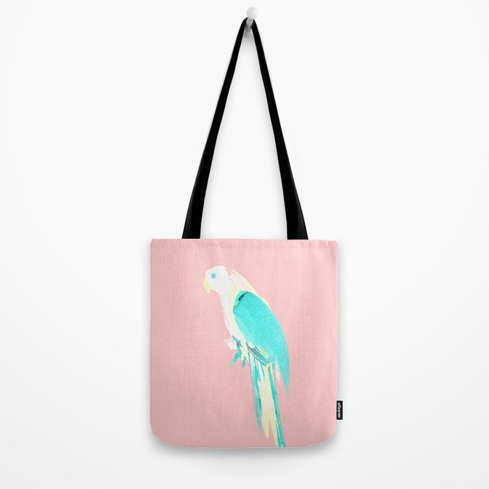 Summer Parrot Tote Bag