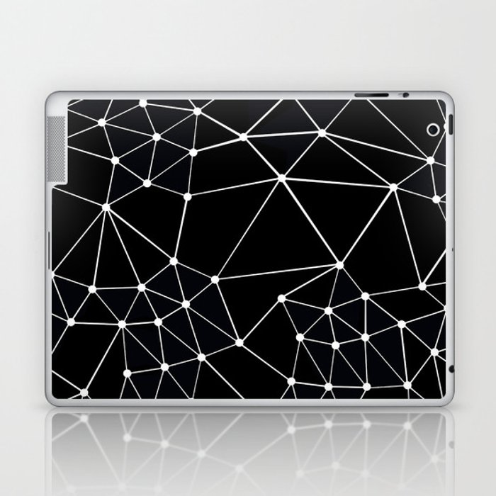 Seg Black Laptop & iPad Skin
