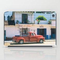 Mexico street scene #2 iPad Case