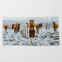 Nordic Wild Beach Towel