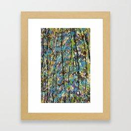 Forest Inner Trail Framed Art Print