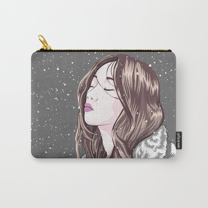 Winter Reverie Carry-All Pouch