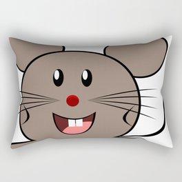 Cartoon Lovely Mouse Rectangular Pillow