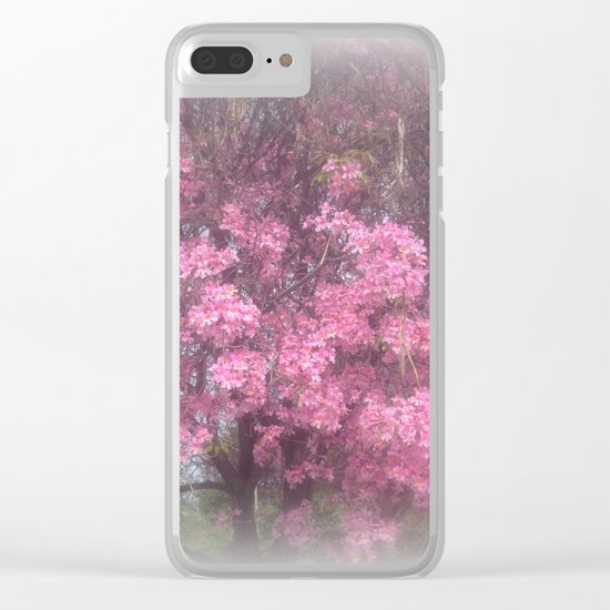 cherry's blossom - 3 Clear iPhone Case