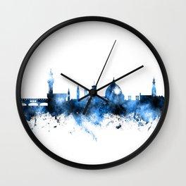Florence Italy Skyline Wall Clock