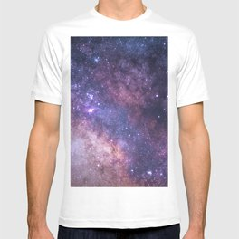 Purple Galaxy Star Travel T-shirt