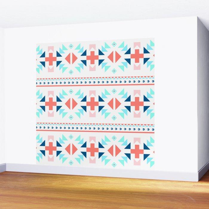 geometry navajo pattern Wall Mural