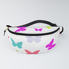 Colorful Butterflies Fanny Pack
