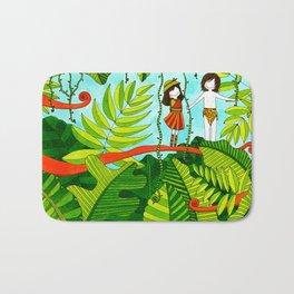 Tarzan&Jane Bath Mat